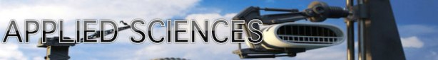 applied sciences banner
